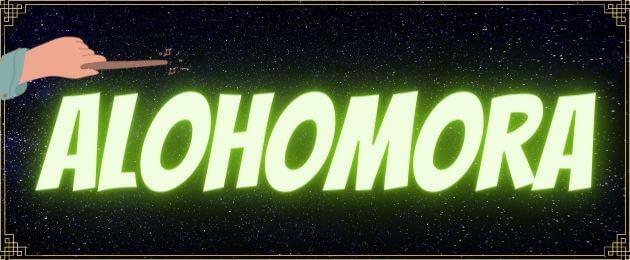 Alohomora Zauberspruch