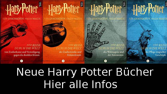 Neue Harry Potter Bücher