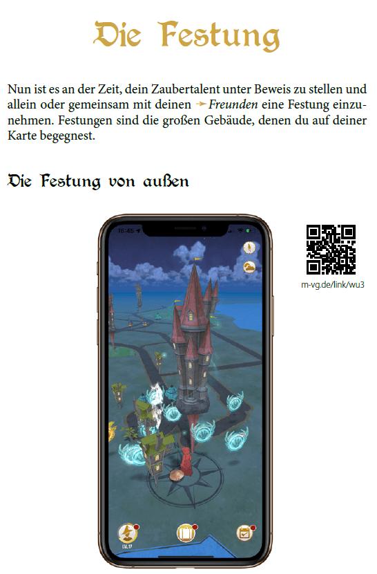 Das inoffizielle Wizards-Unite-Handbuch Screenshot