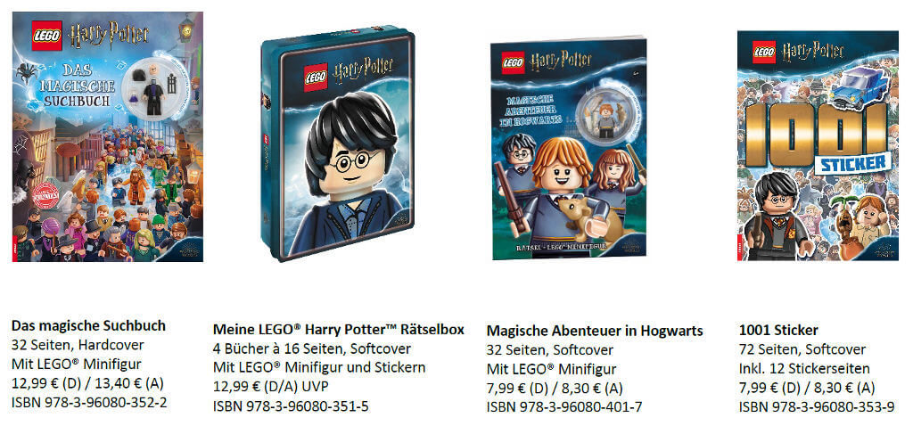 Harry Potter Lego Bücher